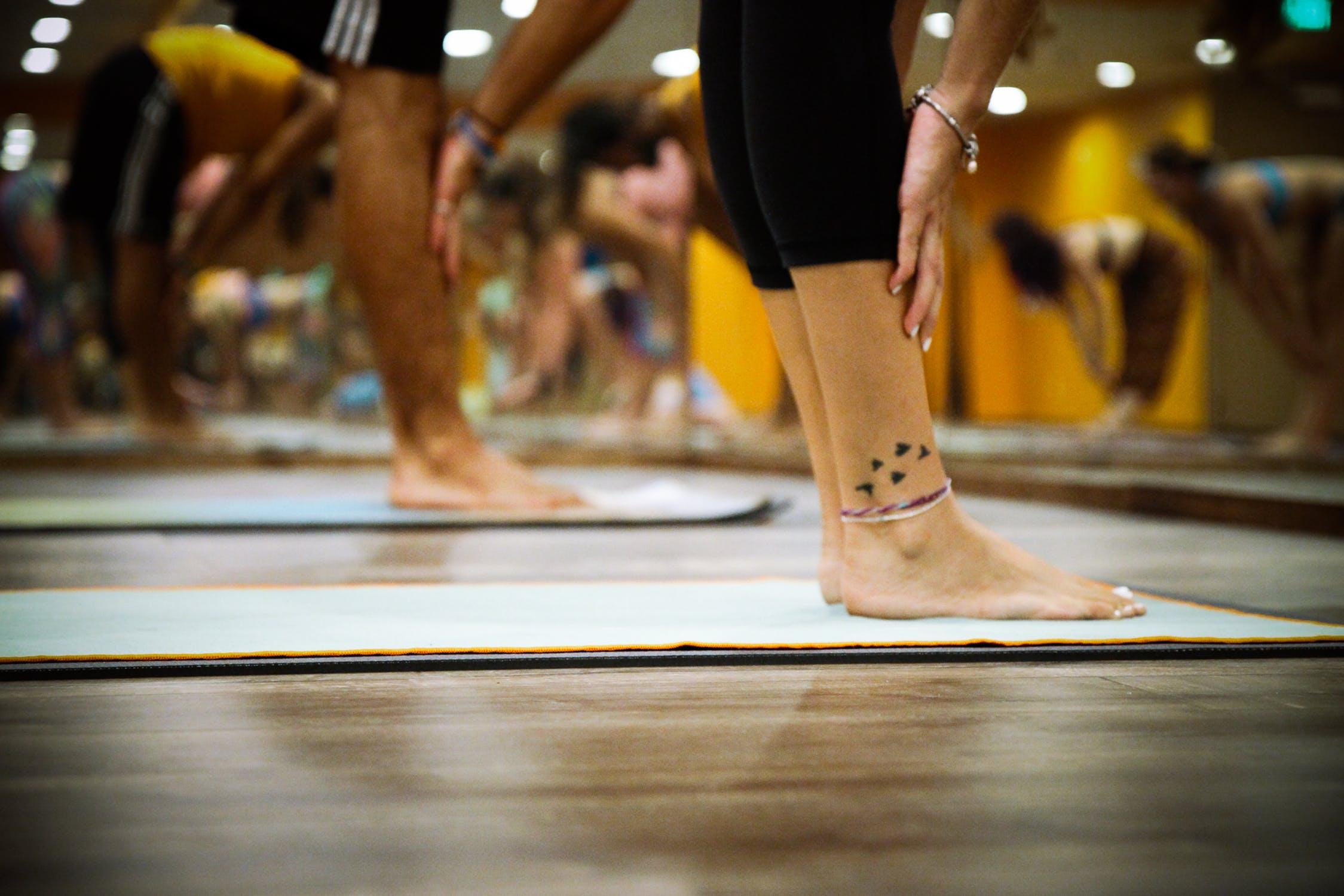 Yoga spiritueller hintergrund